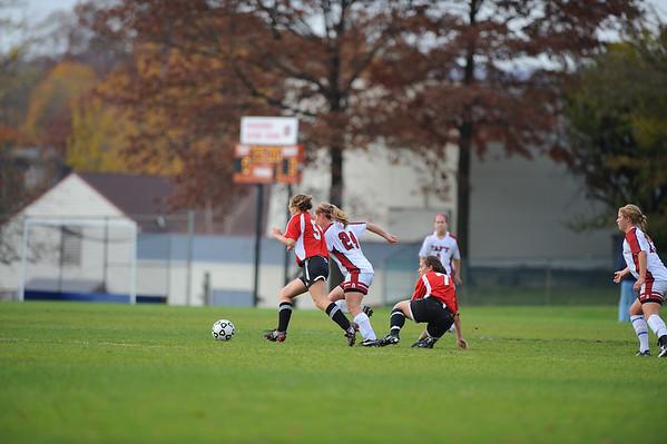 Taft Girls Varsity Soccer 11-5-08