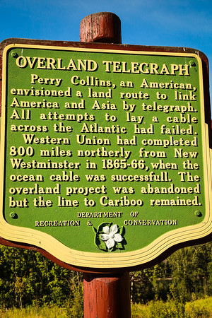 Overland telegraphy rest stop