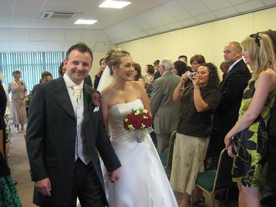 Rachel & Matt's Wedding, England, June 21, 2008