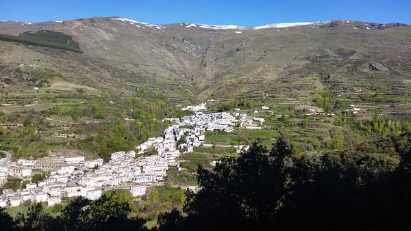 Peñabon, above Trevelez