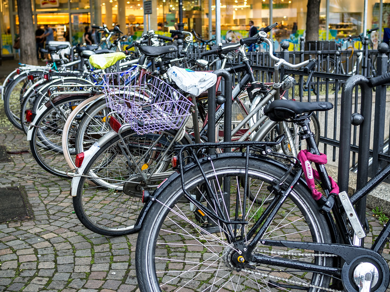 Bicycles in Cologne