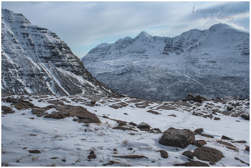 Liathach from the north west