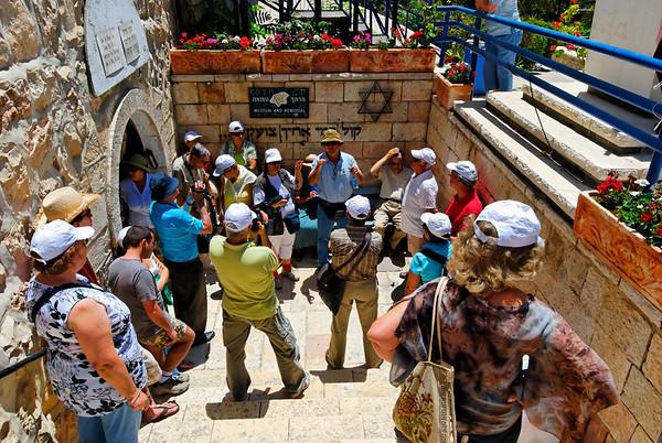 Jerusalem - the original holocaust museum and memorial