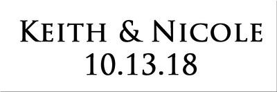 Nicole and Keith 10.13.18