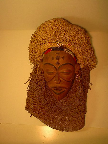 Máscara quioca, Lunda