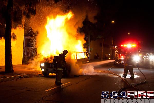 LAFD - Auto Fire - 12-16-11