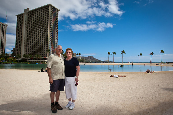 Dennis and Sherrie in Hawaii (1/31/12)