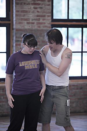 Evil Dead The Musical Rehearsals 9/10/09