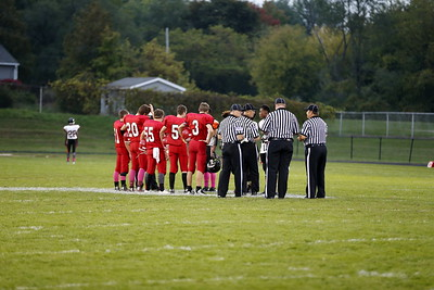 Boys MS Football - 10/7/2015 Orchard View