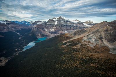 Mount Ball and Shadow Lake, Banff National Park, Alberta, Canada.