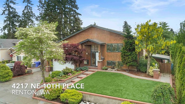 4217 NE 10th Place, Renton WA