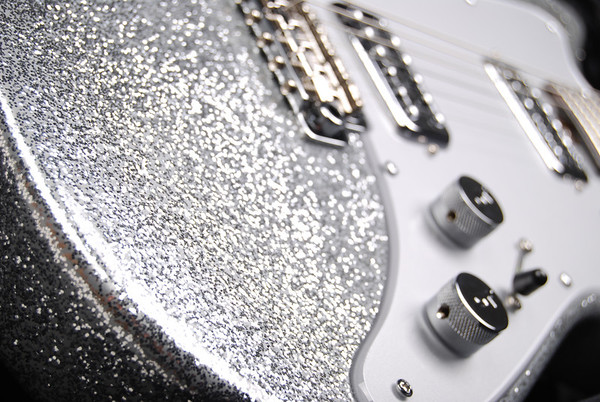 Reserve PlexiJet, Silver Sparkle, TV Jones Pickups