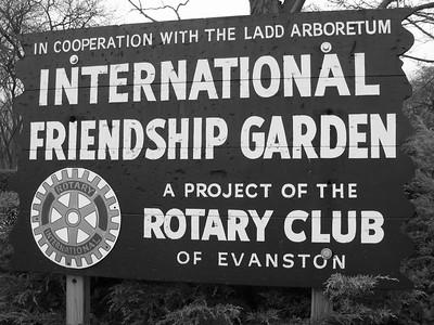 International Friendship Garden (Ladd Arboretum), Evanston