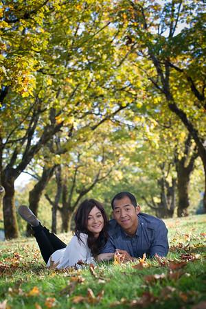Ashley & Sam Engagement,  Bridal Veil Falls