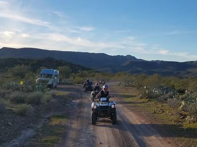1-27-19 PM ATV/shooting tour Dustin