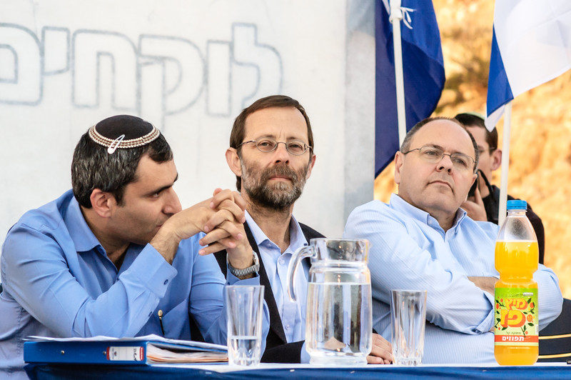 Zeev Elkin, Moshe Feiglin, Dani Dayan