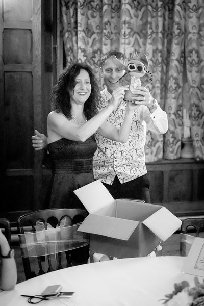 Gizmo is a gremlin, and one of our favourite wedding gifts!