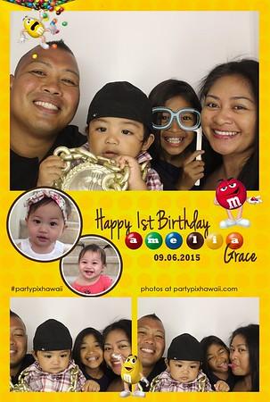 Amelia's 1st Birthday (Luxury Photo Booth)
