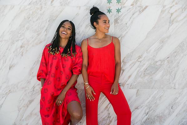 Gabrielle Union & Faith Haslem/ NY & Company 2018