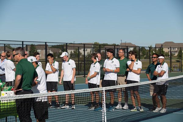 ZCHS Tennis Senior Night & Guerin