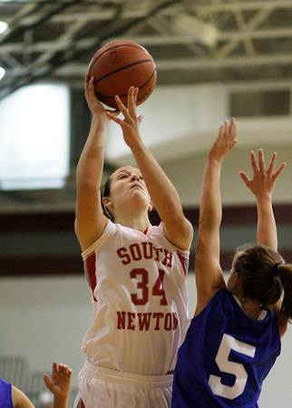 SNHS Girls Basketball vs Carroll 2012