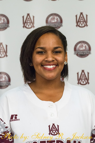 AAMU 2016 Softball Head Shots