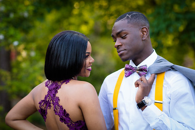 Donielle and Starling Prom 2018