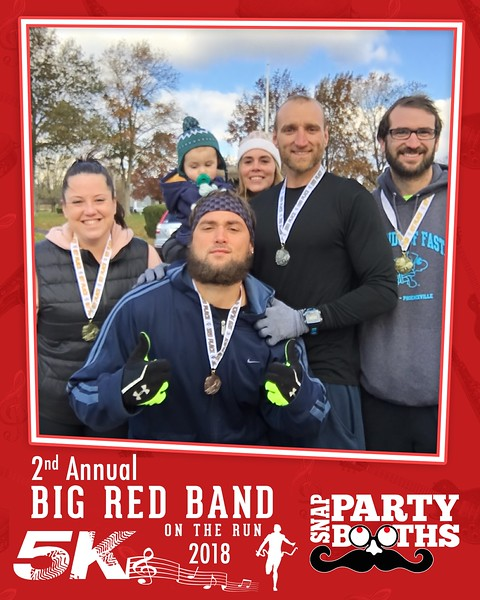 11-10-18 2nd Annual Big Red Band on the Run