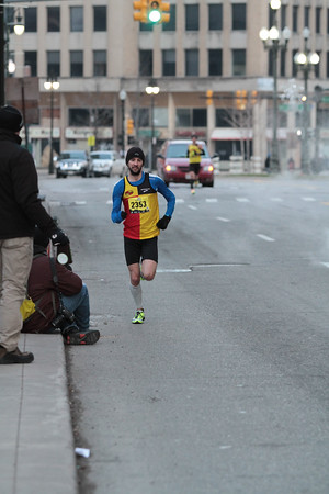 10K at 5.2 Mile Mark - 2014 Fifth Third Detroit Turkey Trot