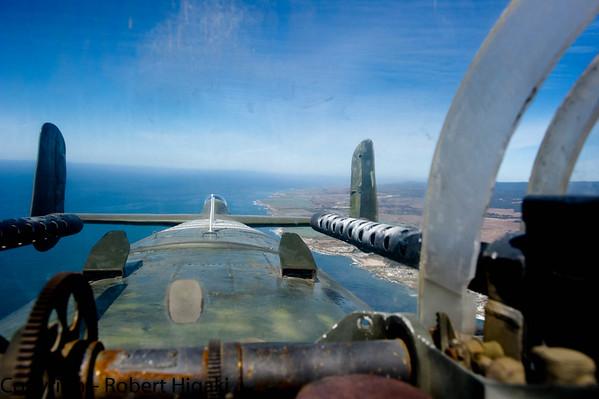 B-25 Mitchell Bomber Flight