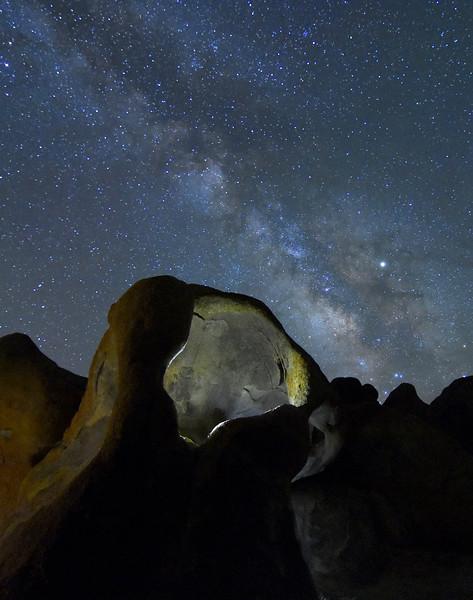 Milky Way Over Cyclops Arch