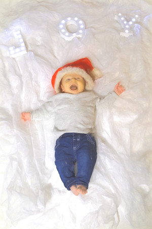 Oliver, baby Elis
