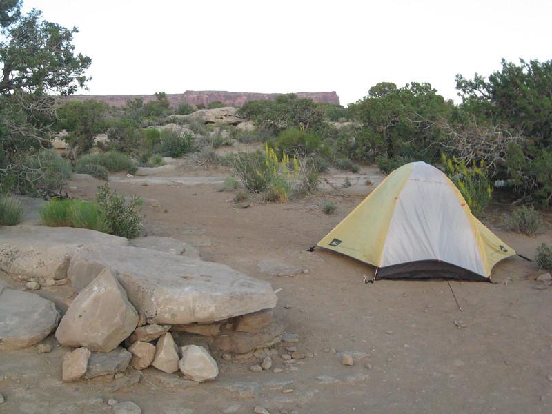 Camping at Murphy's Hogback