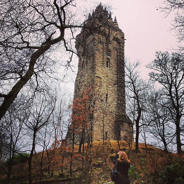 Freedom! Braveheart! William Wallace monument, Stirling, #Scotland #blogmanay