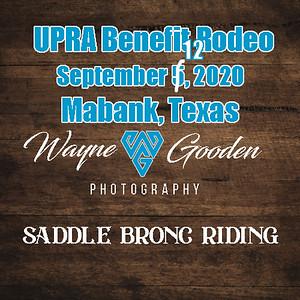 Saddle Bronc UPRA