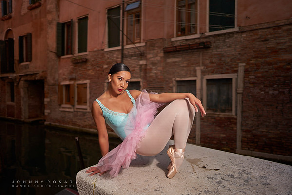 PhotoShoot in Venice  with Macel and Richard