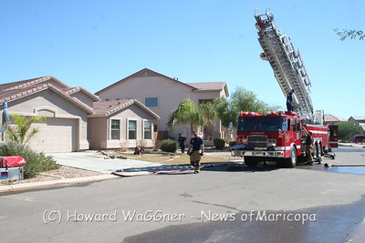 Stove fire 10-2-2010
