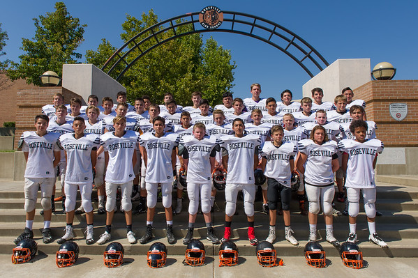 Roseville High School 2016 Freshman Football Team Photo