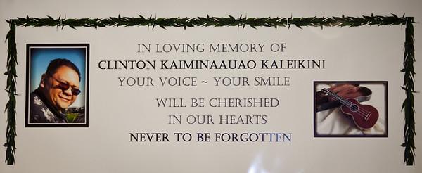 Clinton Kaleikini - A Celebration of Life