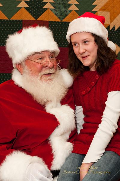 Santa Claus at the Chamber 2011
