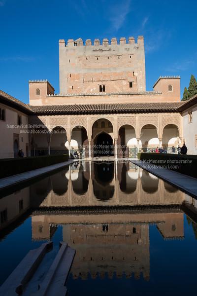 Granada, Alhambra, and Palacio de Generalife