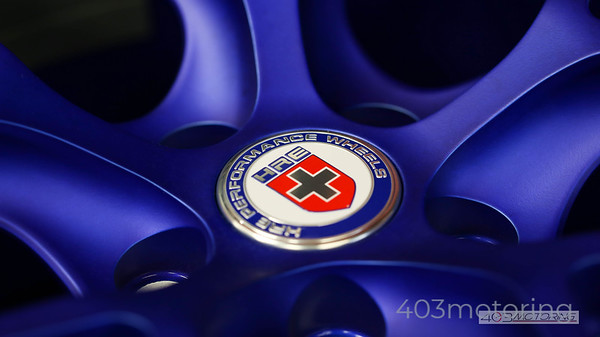 HRE Wheels - Matte Blue