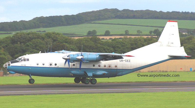 UR-CEZ An12 Cavok Air