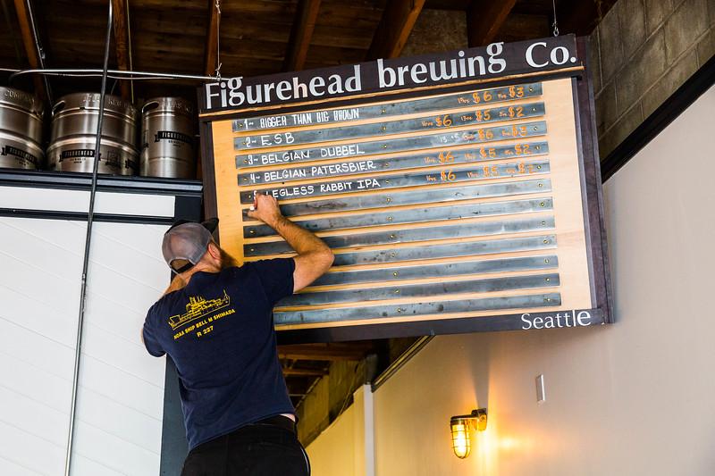 Figurehead Brewing in Seattle