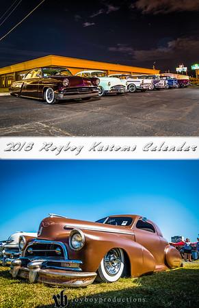 2018 Royboy Kustoms Calendar