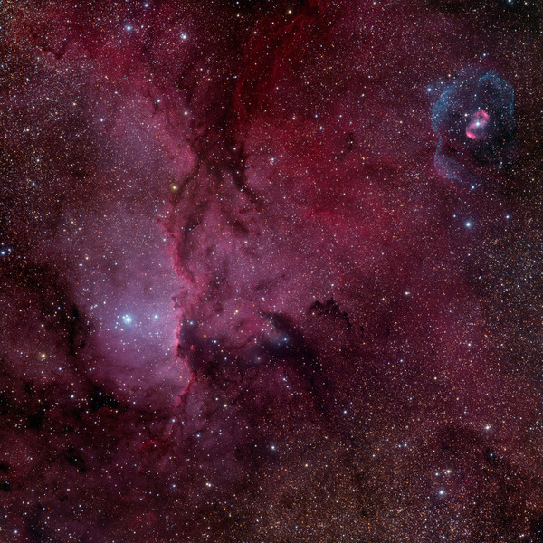Reflections on NGC 6188 and NGC6164