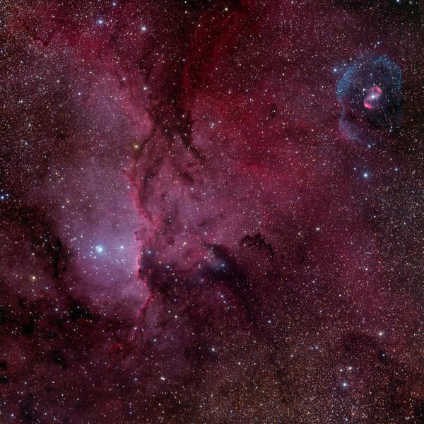 Reflections on NGC 6188 and NGC6164