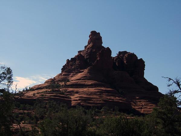 Rock near Sedona, AZ