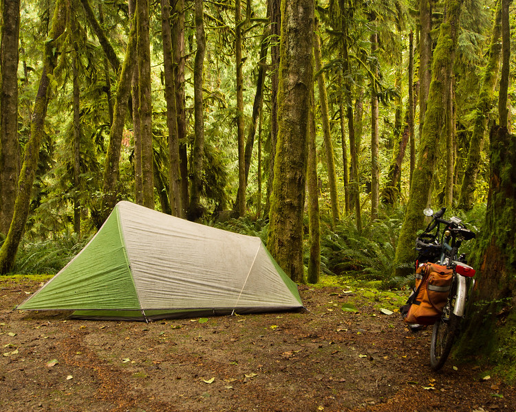 Saltery bay campground