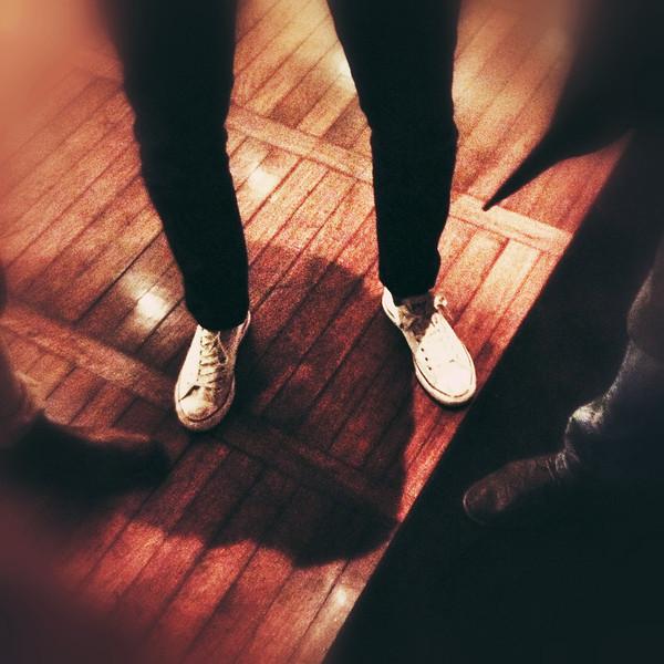 Sneakers på meetup på Amaranten